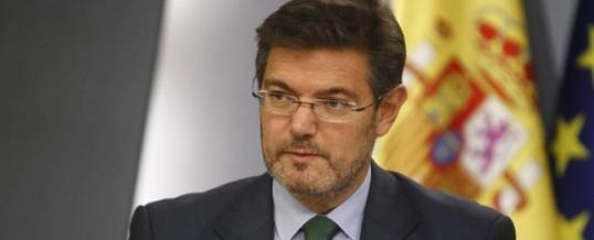 Catalá descarta devolver el dinero cobrado con las tasas por ser legales