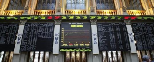 El Ibex regresa a los avances gracias a la banca y a la espera del BCE