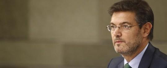 El ministro de Justicia explica las medidas mediante las que se implantará la Justicia sin papeles